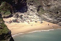 West Cornwall beach