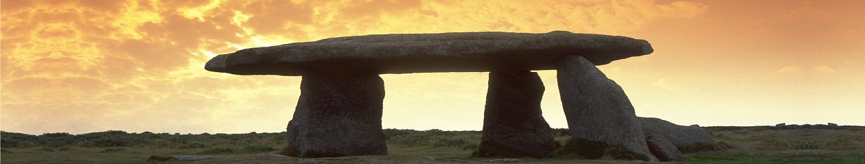 Lanyon Quoit - ancient archaeological site nr Penzance