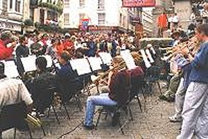 Band in Street